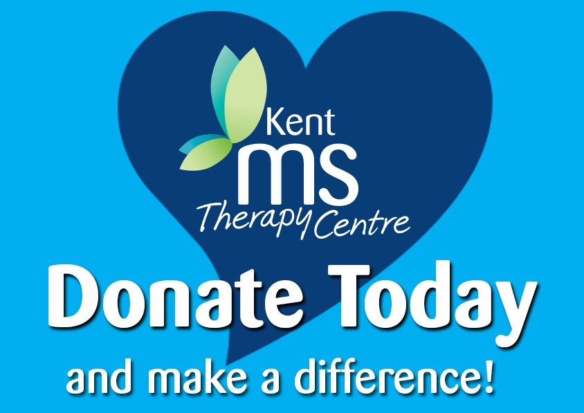 Donate today to the Kent MS Therapy Centre