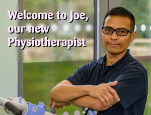 Welcome Joe Physio