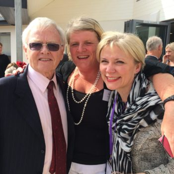 Frank Brake, Mary Daly and Sharon Wilding