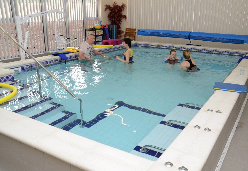 Members in the hydrotherapy pool. Pic credit: Canterbury Times