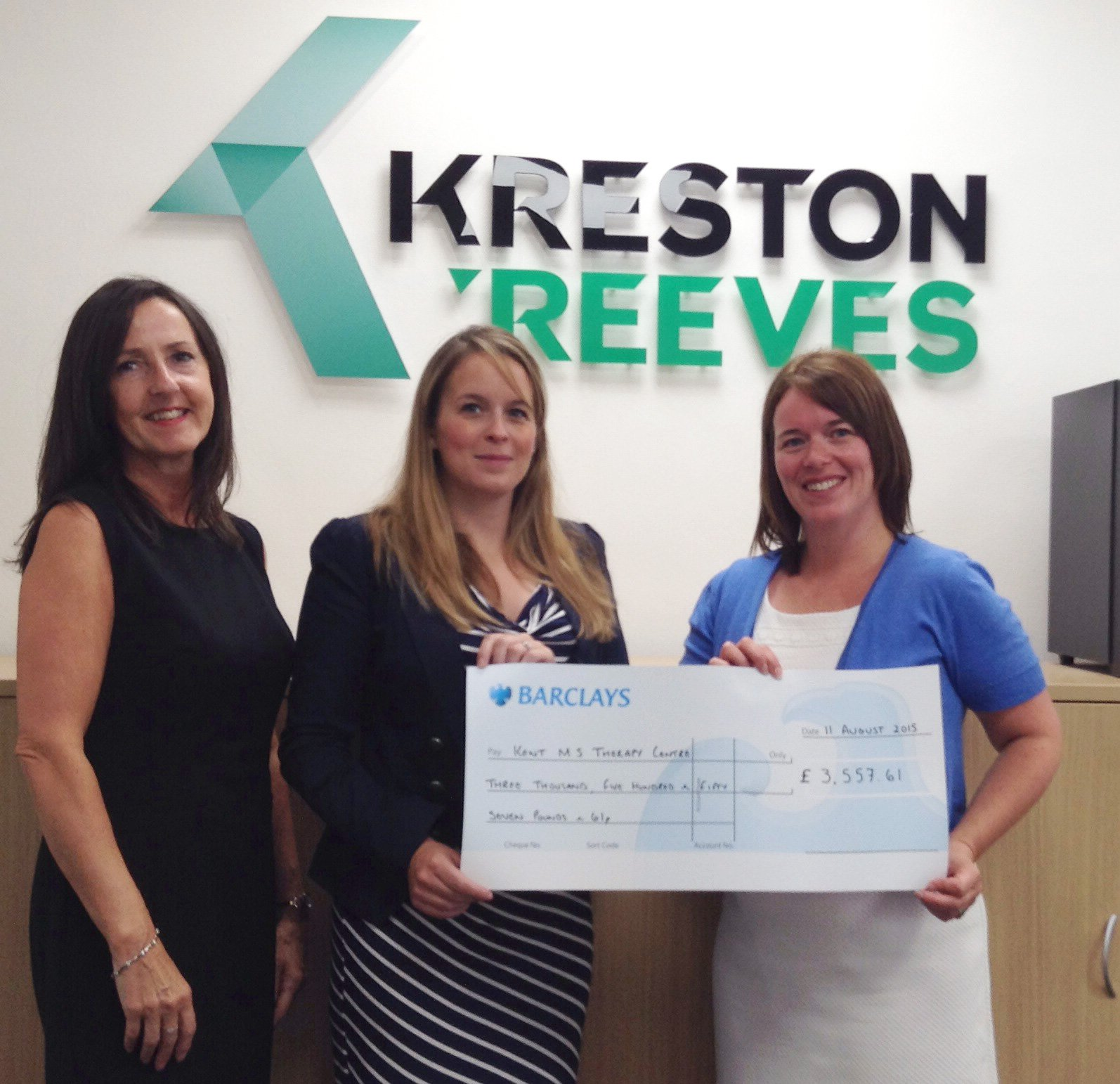 Kreston Reeves fundraising for KMSTC