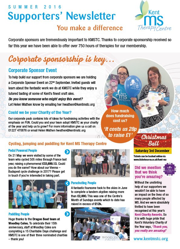 KMSTC Summer Newsletter