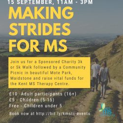 Sponsored charity walk for KMSTC