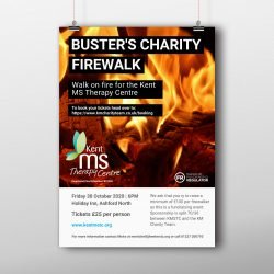Buster's Charity Firewalk KMSTC