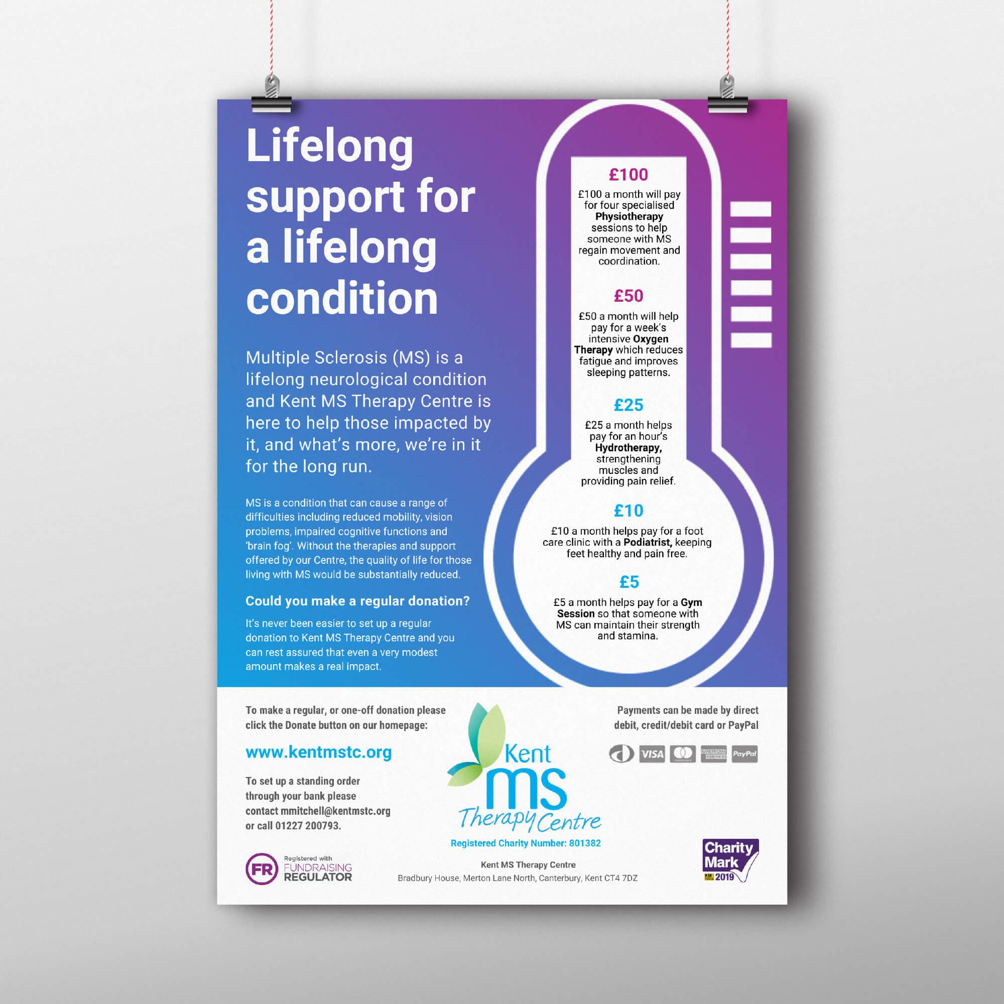 Kent MS TC donation appeal 2020