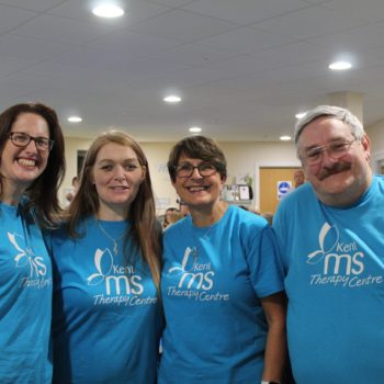 Volunteer for the Kent MS Therapy Centre